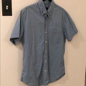 J crew button down short sleeve shirt